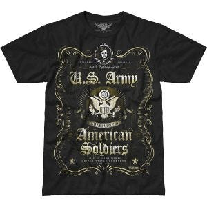 Camiseta 7.62 Design Army Fighting Spirit Battlespace en negro