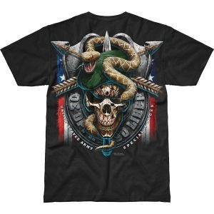 Camiseta 7.62 Design Army Special Forces Green Beret Battlespace en negro