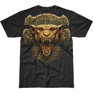 Camiseta 7.62 Design USMC Devil Dog Battlespace en negro