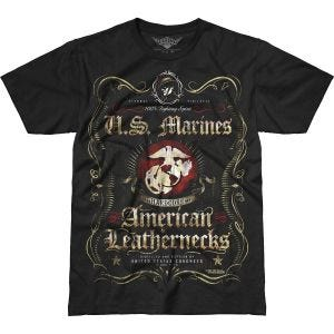 Camiseta 7.62 Design USMC Fighting Spirit Battlespace en negro