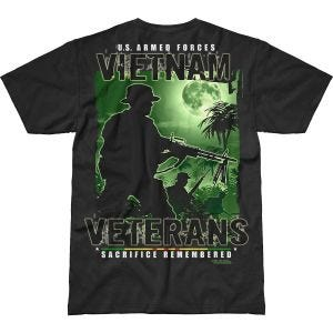 Camiseta 7.62 Design Vietnam Veterans Remembered Battlespace en negro
