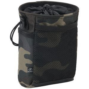 Bolsa táctica Brandit con sistema MOLLE en Dark Camo