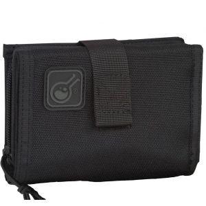 Monedero y funda para el móvil 2 en 1 Civilian iWallet en negro