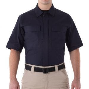 First Tactical Men's V2 Short Sleeve BDU Shirt Midnight Navy