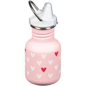Botella Kid Kanteen con tetina de 355 ml en Millennial Hearts
