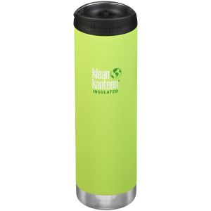 Klean Kanteen TKWide 591ml Insulated Bottle Cafe Cap 2.0 Juicy Pear