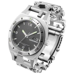 Reloj de herramientas Leatherman Tread Tempo de acero inoxidable