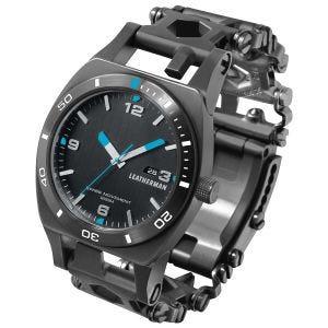 Reloj de herramientas Leatherman Tread Tempo en negro