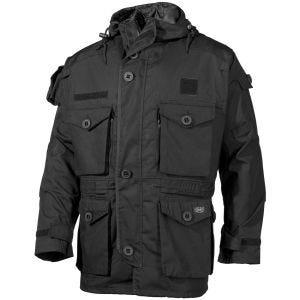 Chaqueta guardapolvo MFH Commando en negro