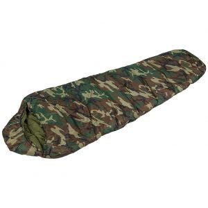 Mil-Tec Mummy Sleeping Bag 400g Woodland