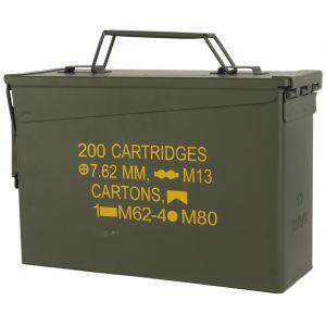 Caja de munición de calibre ,30 Mil-Tec M19A1 en verde oliva