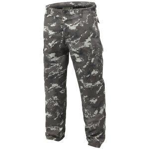 Pantalones Mil-Tec BDU Ranger Combat en Digital Black