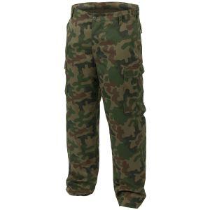 Pantalones Mil-Tec BDU Ranger Combat en Woodland polaco