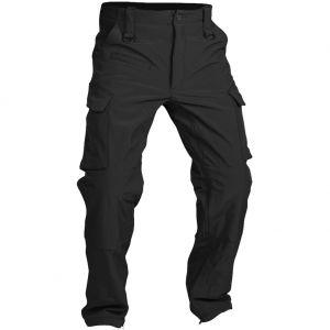 Pantalones de tejido softshell Mil-Tec Explorer en negro