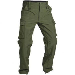 Pantalones de tejido softshell Mil-Tec Explorer en verde oliva