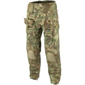Pantalones con rodilleras Mil-Tec Warrior en Arid Woodland