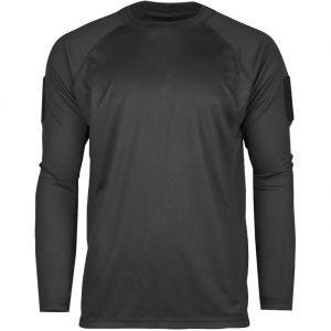 Mil-Tec Tactical Long Sleeve Quick Dry Shirt Black