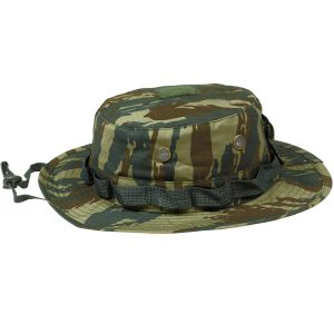 Gorro de pescador Pentagon Jungle de Ripstop en Greek Lizard