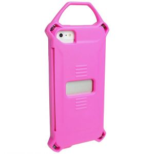 Funda para iPhone 5 Strike Industries en Shox Pink