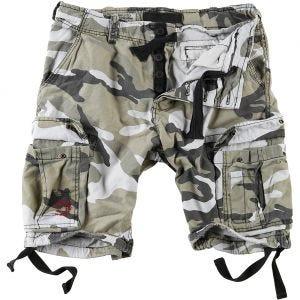 Pantalones cortos Surplus Airborne Vintage lavados a la piedra en Urban