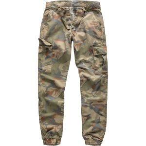 Pantalones Surplus Bad Boys en camuflaje de 4 colores