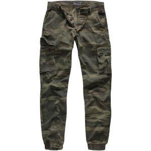 Pantalones Surplus Bad Boys en Green Camo