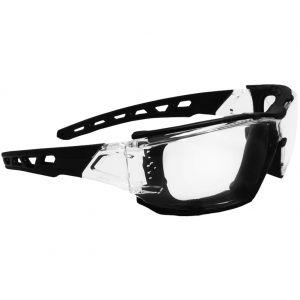 Gafas de sol Swiss Eye con lentes transparentes y montura con aberturas en transparente / negro
