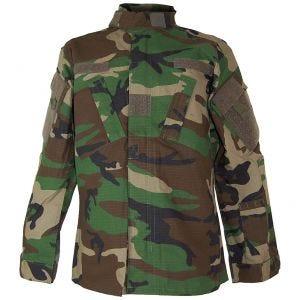 Camisa de combate Teesar ACU en Woodland