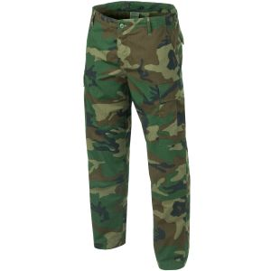 Pantalones Teesar BDU de Ripstop en Woodland