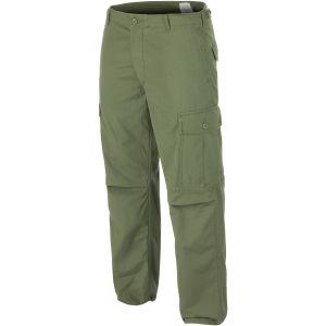 Pantalones Teesar US Jungle M64 Vietnam en verde oliva