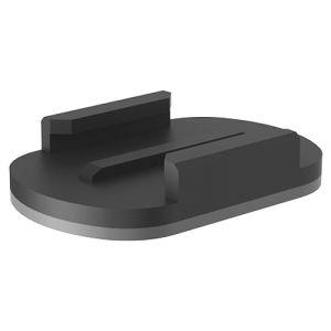 Soportes adhesivos planos Xcel en negro