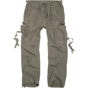 Pantalones Brandit M-65 Vintage en verde oliva