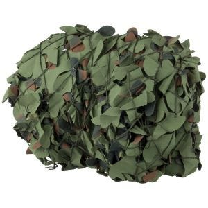 Red de camuflaje Camosystems Broadleaf Military en Flecktarn de 3 x 3 m