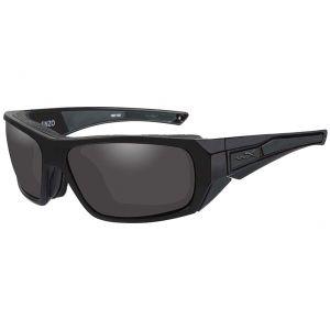 Gafas Wiley X WX Enzo con lentes ahumadas grises y montura en negro mate