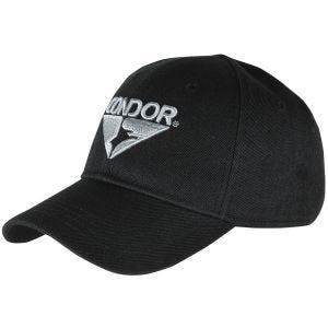 Gorra de entrenamiento Condor en negro