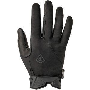 Guantes de servicio para hombre First Tactical de tamaño mediano en negro