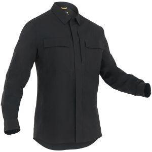 Camiseta de manga larga para hombre BDU First Tactical Tactix en negro