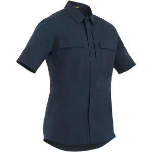 Camiseta de manga corta para hombre BDU First Tactical Tactix en Midnight Navy