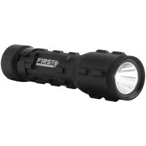 Linterna de servicio First Tactical de tamaño pequeño en negro