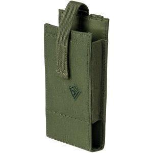 Funda para dispositivos multimedia First Tactical de tamaño grande en OD Green