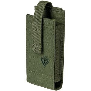 Funda para dispositivos multimedia First Tactical de tamaño mediano en OD Green