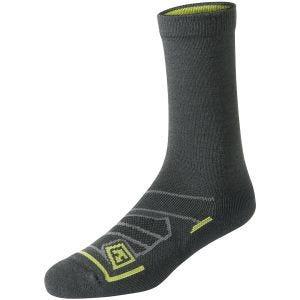 """Par de calcetines de lana merino First Tactical de 6"""" para todo el año en Charcoal"""