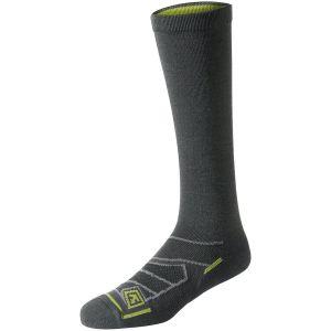 """Par de calcetines de lana merino First Tactical de 9"""" para todo el año en Charcoal"""