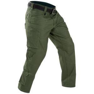 Pantalones para hombre First Tactical Defender en OD Green