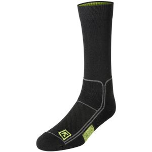 "Par de calcetines First Tactical Performance de 6"" en negro"