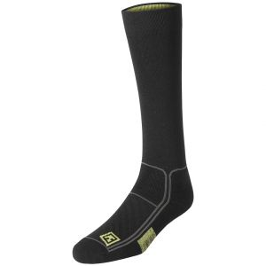 "Par de calcetines First Tactical Performance de 9"" en negro"