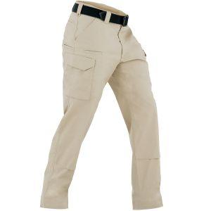 Pantalones tácticos para hombre First Tactical Tactix BDU en caqui