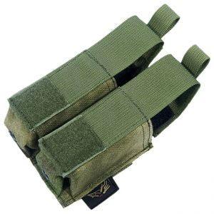 Portacargador doble de cartuchos Flyye 9mm Pistol Ver. HP con sistema MOLLE en A-TACS FG