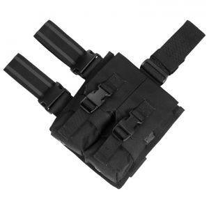 Portacargador doble para la pierna Flyye M4/M16 con sistema MOLLE en negro