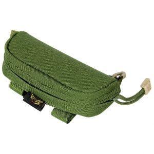 Funda para gafas Flyye en verde oliva